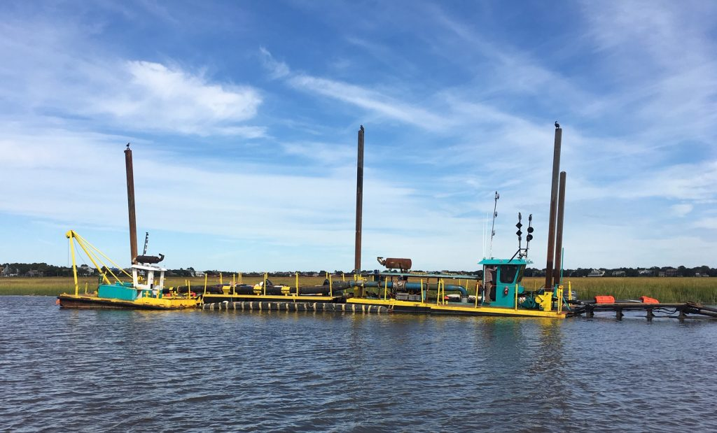 Canal Dredging Update – Friday 10/19/18