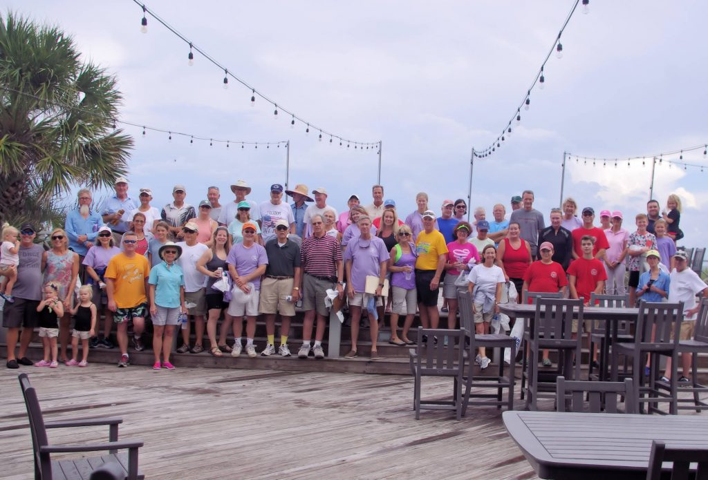 "DeBordieu Residents Celebrate 30 Years of ""Sweeping"" the Beach"
