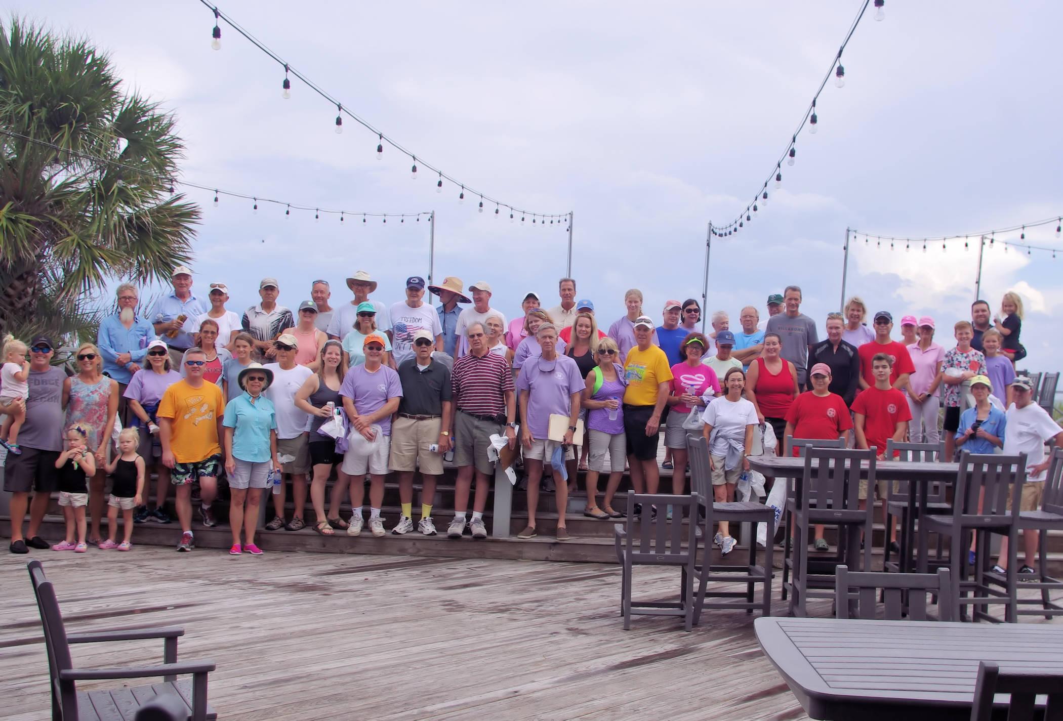 "DeBordieu Residents Celebrate 30 Years of ""Sweeping"" the Beach"
