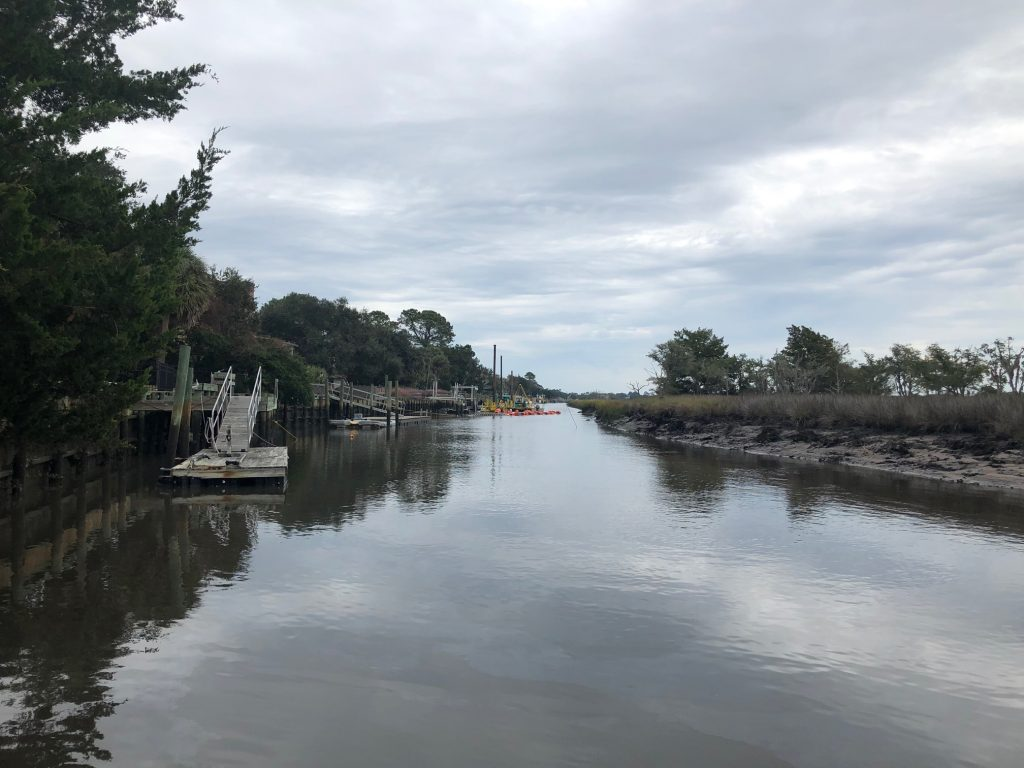 Canal Dredging Update – Tuesday, November 20, 2018