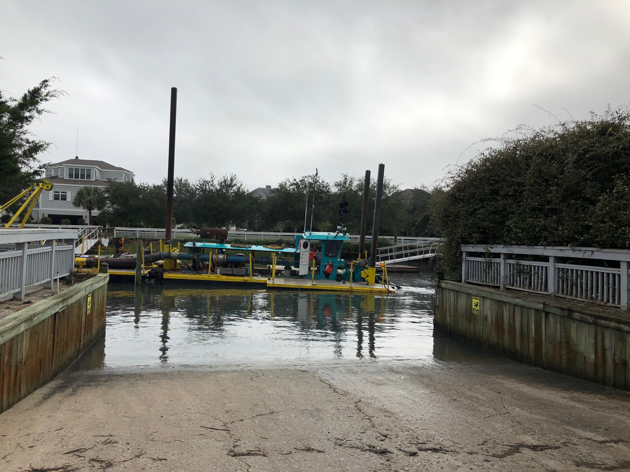 Canal Dredging Update – Tuesday 10/30/18