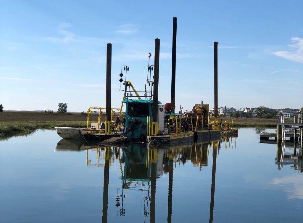 Canal Dredging Update – Wednesday, December 12, 2018