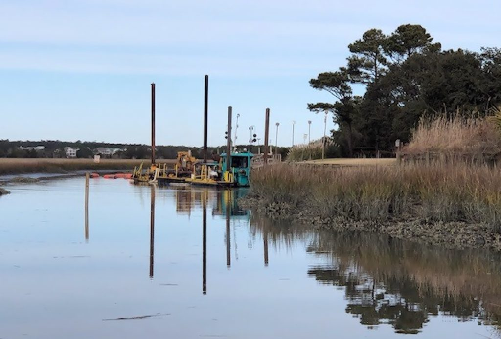 Canal Dredging Update – Friday, February 1, 2019
