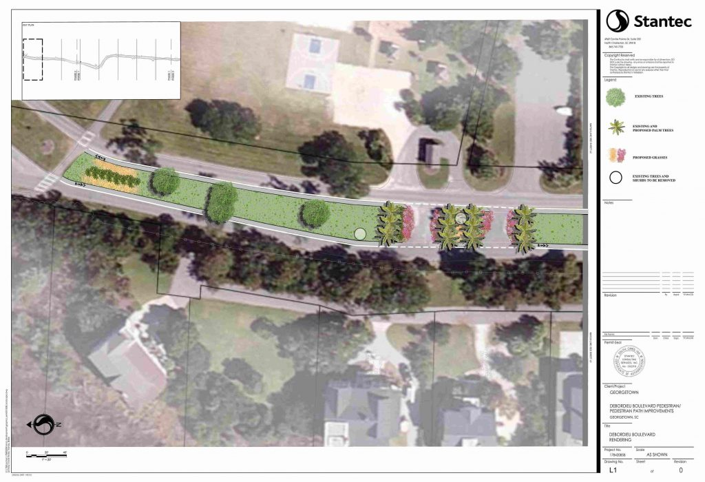 DeBordieu Boulevard Path Construction to begin in February