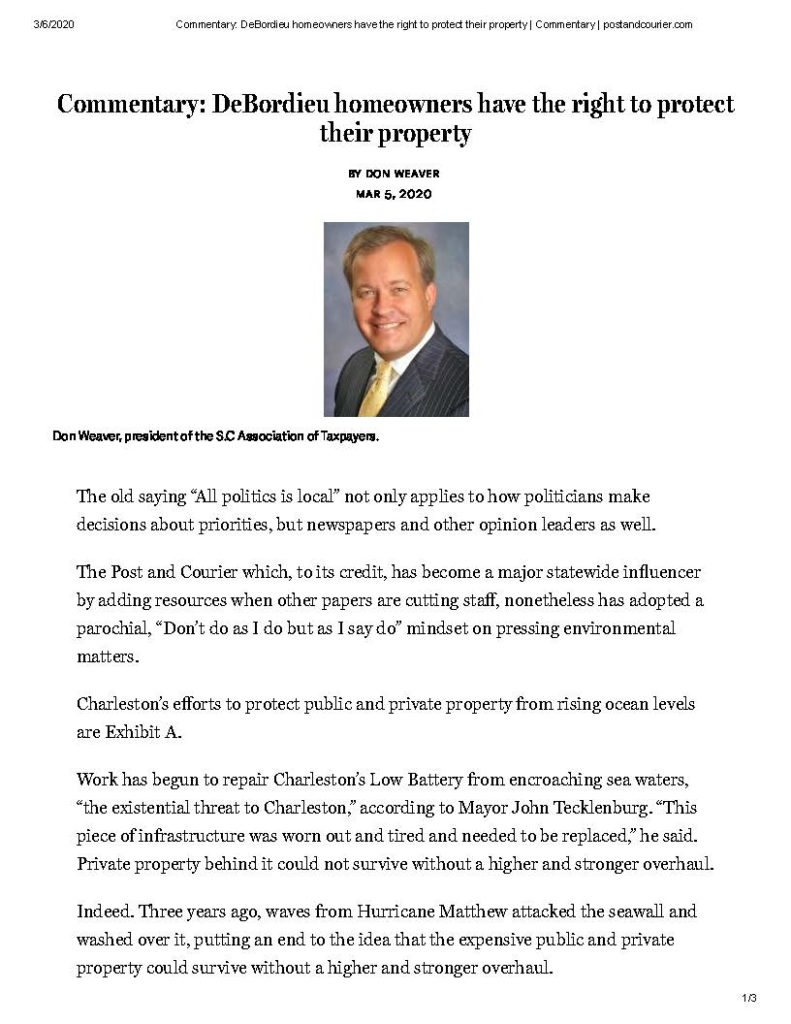 P&C – Deb owners have right to protect property