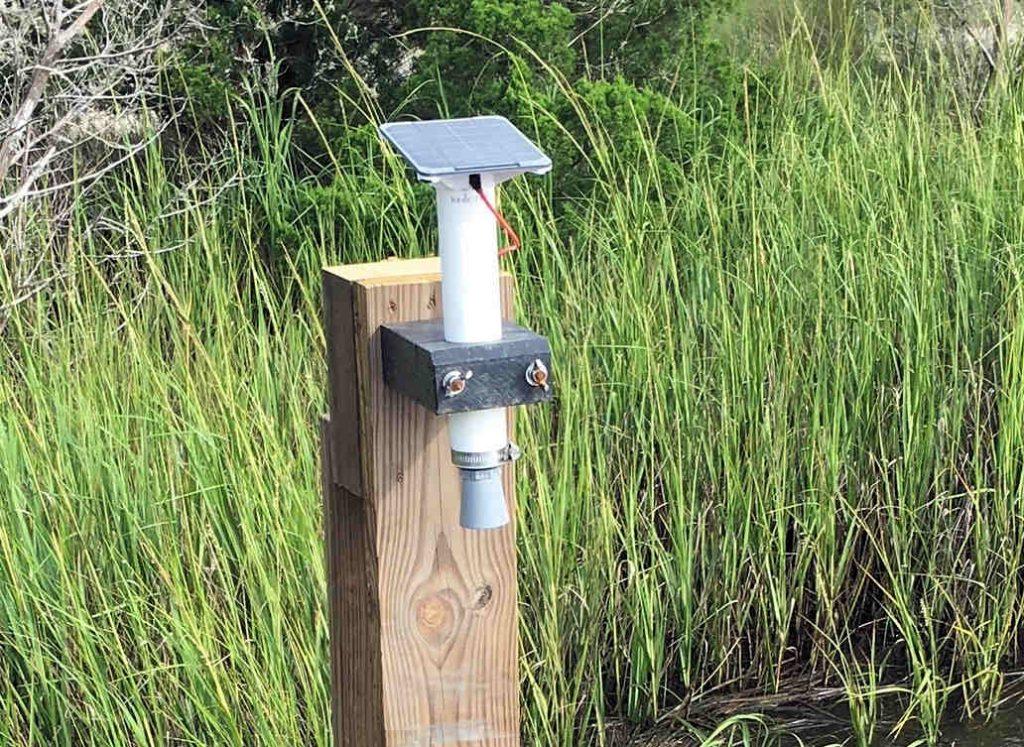 DeBordieu Colony Water Level Sensor
